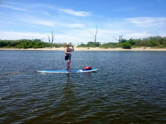 SUP Englewood : Jan on a SUP tour