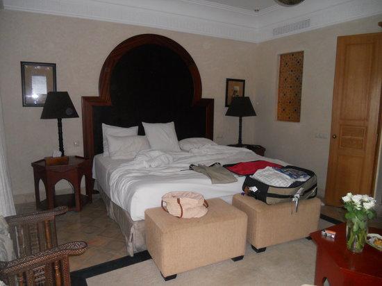 Riad Villa Blanche: the room