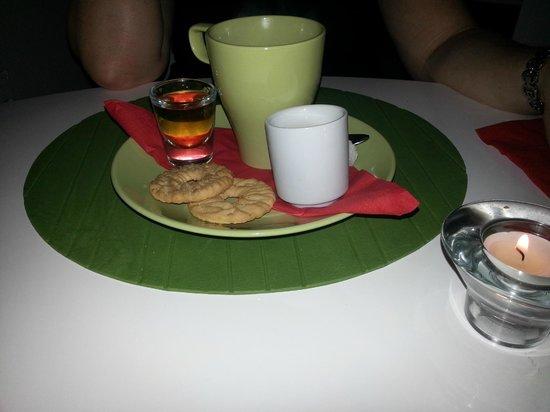 Moshan Island Grill: Rum coffee
