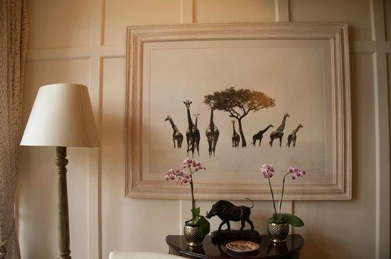 Giraffe Manor: Lounge
