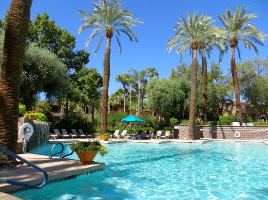 DoubleTree Resort by Hilton Paradise Valley - Scottsdale: South area hotel pool