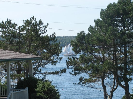 Spruce Point Inn Resort and Spa: view from room