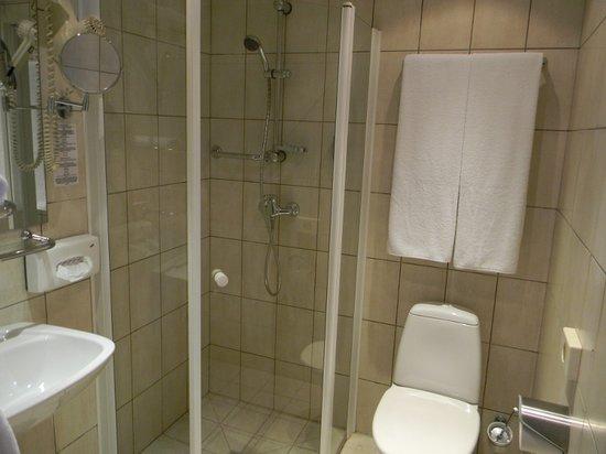 Europa City Amrita Hotel: Bathroom