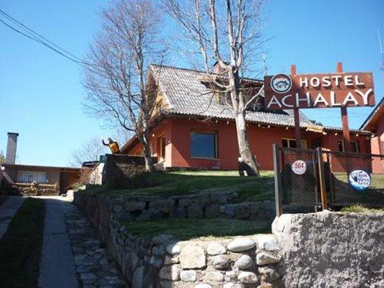Hostel Achalay: La entrada al Hostel