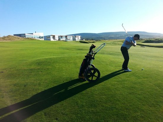 Cabot Links Resort: Coming home on the 18th Hole