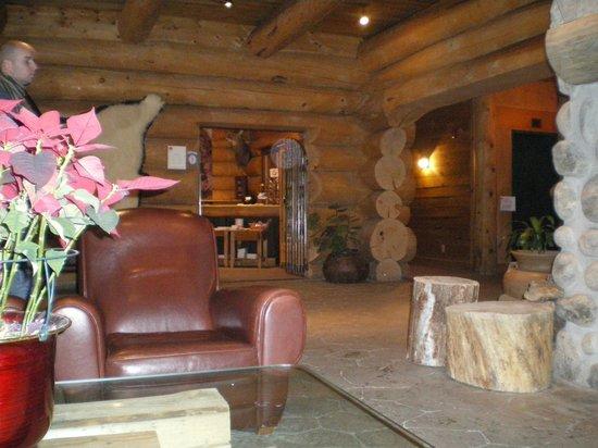 Hotel Sacacomie : Espace détente