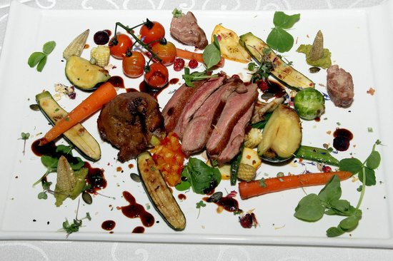 The Sugar Club: MAIN COURSE -LOIN OF LAMB