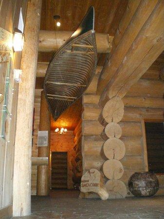 Hotel Sacacomie : A l'entrée de l'hôtel