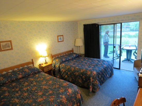 Blue Iris Motor Inn : room with 2 doubles