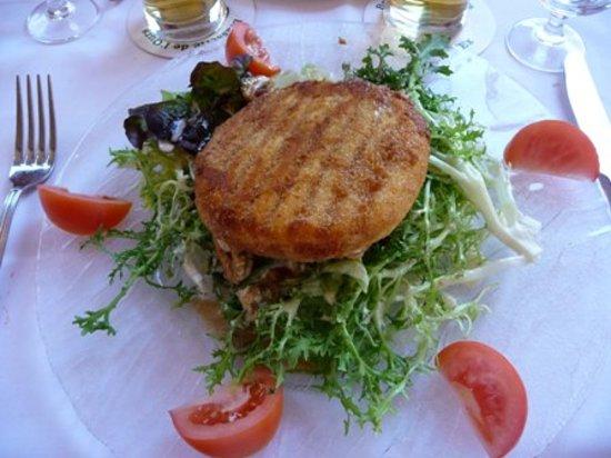 Brasserie de l'Ours: La tomme de Rougemont panée
