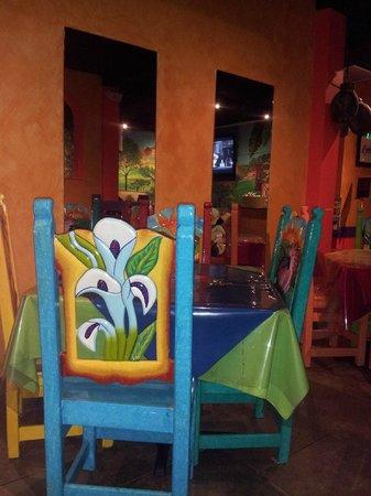 Jose's  Mexican Grill: Interior of Jose's