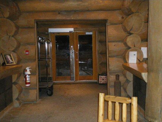 Hotel Sacacomie : Entrée
