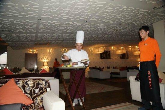 Pashmir Restaurant : пловщик с пловом