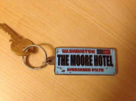 Moore Hotel: Room key :)