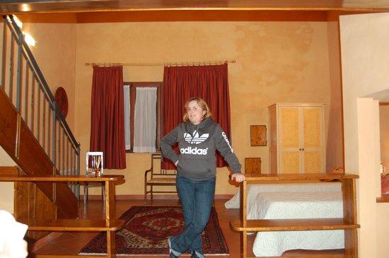 Borgo di Villa Castelletti: dormitorio con dos camas