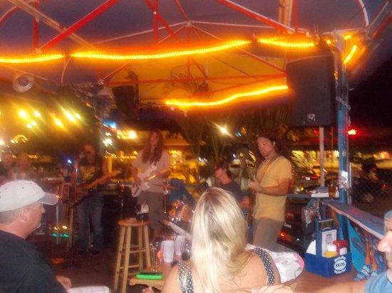 The Siesta Key Oyster Bar : band on Saturday night