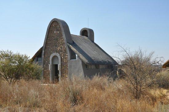 N/a'an ku se Lodge and Wildlife Sanctuary: habitacion tipo casita