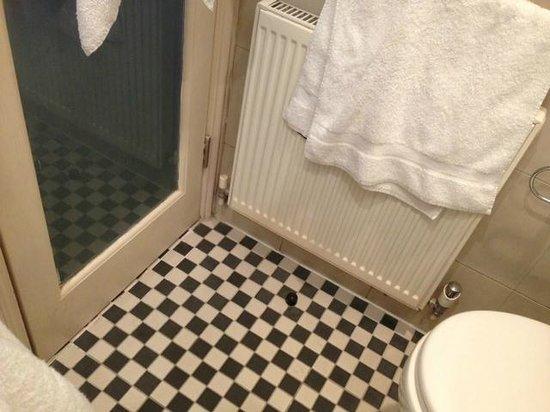 Duke of Leinster Hotel: aseo familiar con capacidad para 1 persona, obligatorio cerrar la puerta para moverse in