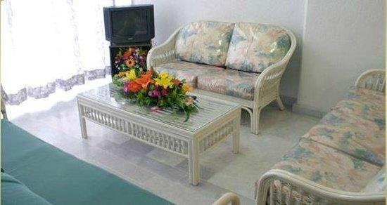 Jazmin Suites: Sala Habitacion 1 Recamara