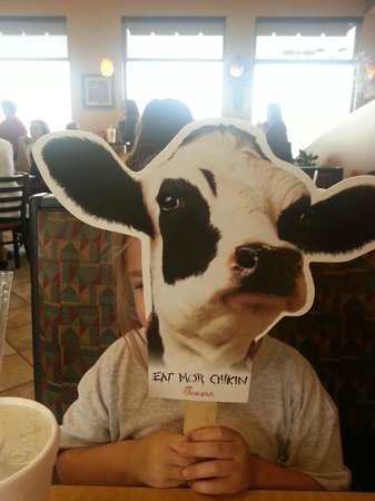 Chick-fil-A: we pratically eat there everyday!