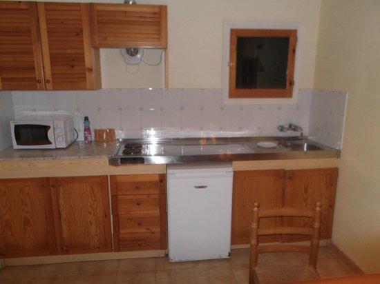 Sant Joan Apartaments: diner/kitchen