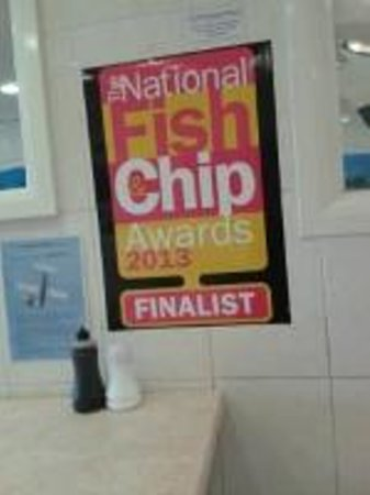 Plattens Fish and Chips: Good fish and chips here!