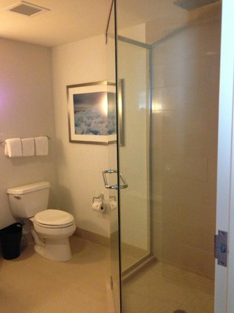 The Westin Edina Galleria : Bath with walk-in shower