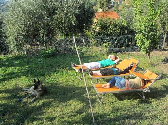 Ca di Pigai: Enjoying the Sun