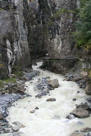Gletscherschlucht: The Gorge - separate fee to see and walk this close-up trail in the Gorge