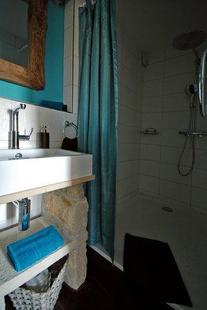 Pfaendle's Gasthof zum Baeren: Bad im Einzelzimmer