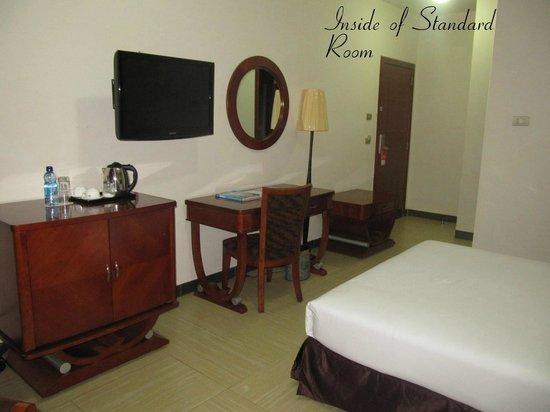Aphrodite International Hotel: Inside of Standard Room