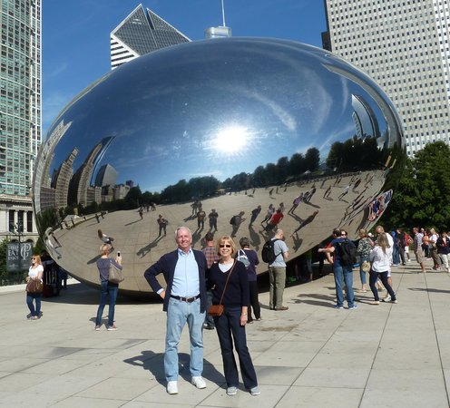 Eaglewood Resort & Spa : A visit to the Bean, Milennia Park, Chicago