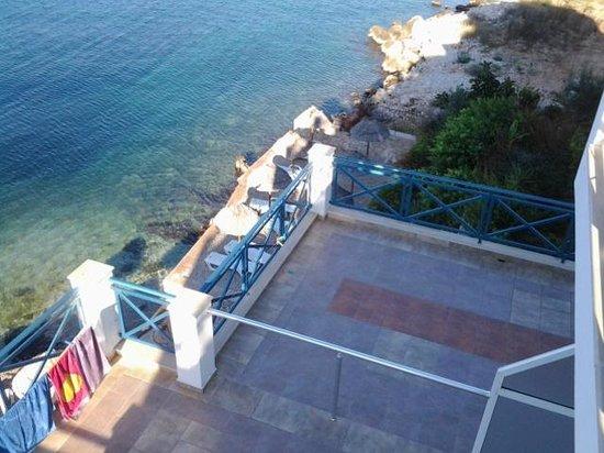 Hotel Maestral: Widok z balkonu