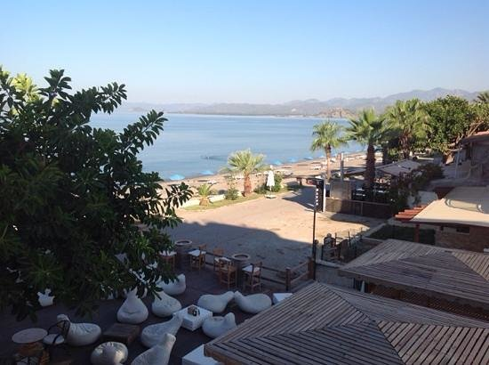Manas Park Calis: view from seaview room