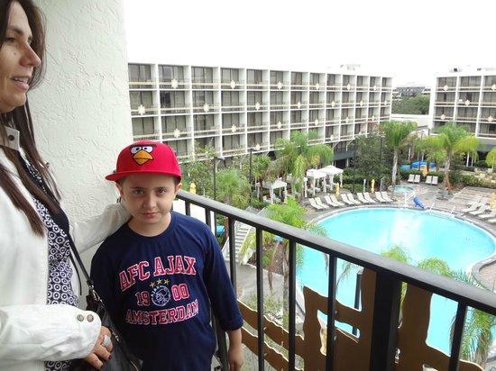 Sheraton Lake Buena Vista Resort: vista do quarto para o complexo aquatico