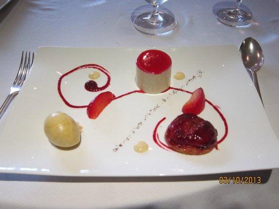 Gidleigh Park Restaurant : Pudding!