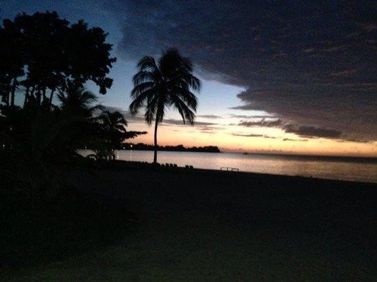 Hotel Riu Palace Tropical Bay: Sunset is beautiful