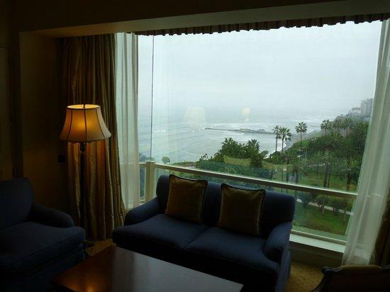 Belmond Miraflores Park : vue de la chambre sur le Pacifique
