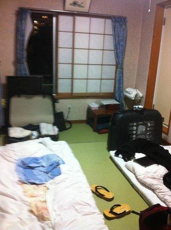 Ryokan Asakusa Mikawaya : Vue de la chambre