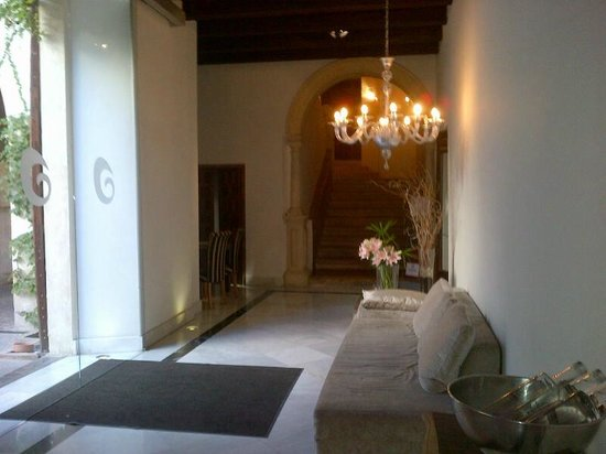 Hospes Palacio del Bailio : ingresso