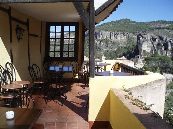 Restaurante de la Posada de San Jose: Si el tiempo lo permite, disponemos de una pequeña terraza para comer o cenar