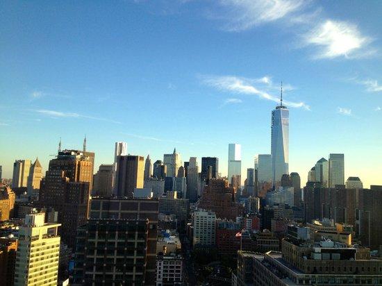 Trump SoHo New York: Sonnenuntergang