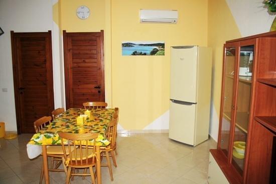South Sardinia Holidays: yellow house