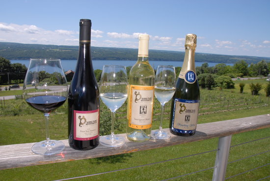 Burdett, NY: Red, White, and Bubbly!