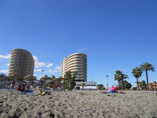 Hotel Puente Real: Desde la playa