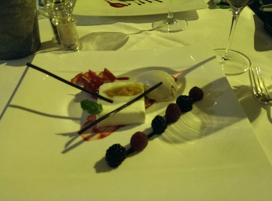 Zunfthaus zur Waag: dessert