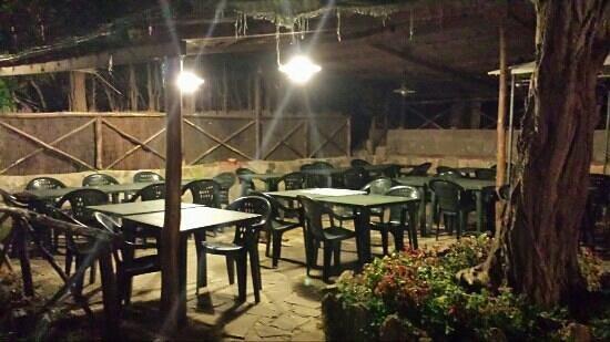 La Melatina: Terrasse