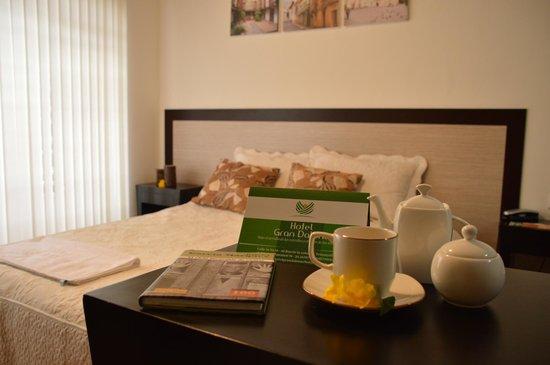 Hotel Gran Dalona: Habitación sencilla