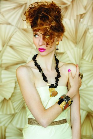 Tiger's Eye: Beautiful jewelry by Anne-Marie Chagnon.
