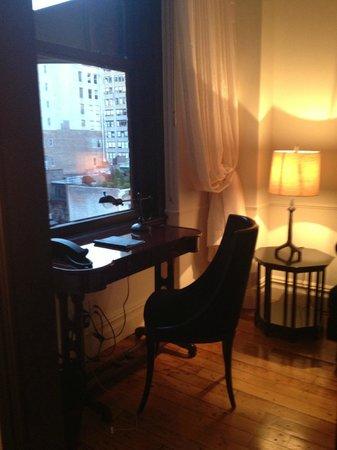 The NoMad Hotel: desk